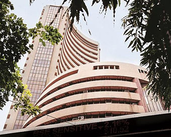 Sensex turns negative after touching 47,000 for first time