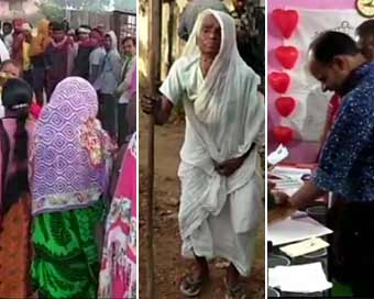 Polling underway in Chhattisgarh