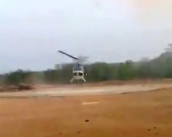 Video: Chopper carrying CoBRA commandos crash-lands in Sukma