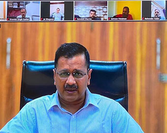 Coronavirus: Kejriwal holds video conference meeting with AAP MLAs