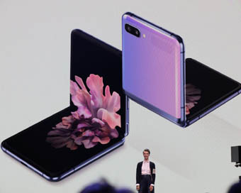 Samsung unveils its second foldable phone Galaxy Z Flip