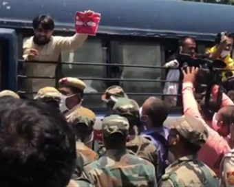Delhi Police detain Army veterans protesting outside Chinese Embassy