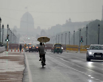 Light rain in Delhi-NCR, temperature to rise by weekend