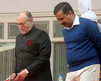 CM Kejriwal, Delhi LG extend Holi greetings, urge to follow Covid norms
