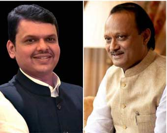 Fadnavis, Ajit Pawar quit after 80 hours in power