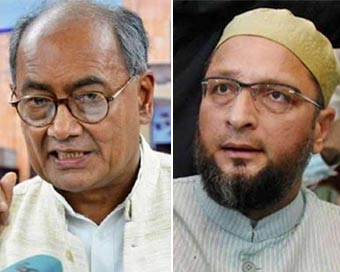 Digvijaya, Owaisi slam Army Chief over anti-CAA protests