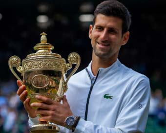 Djokovic beats Federer in five-set thriller, wins Wimbledon