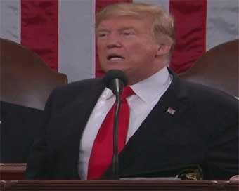 Trump delivers State of the Union