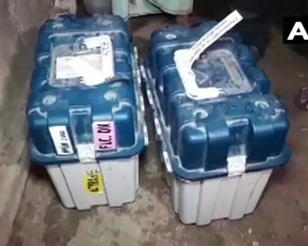 Bengal: Sector officer suspended after EVMs, VVPATs found at TMC leader