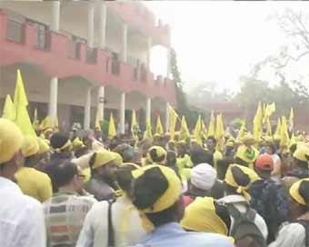 agitation in hindi