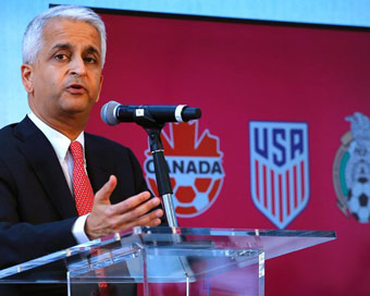 US, Mexico,Canada announce joint bid for World Cup 2026