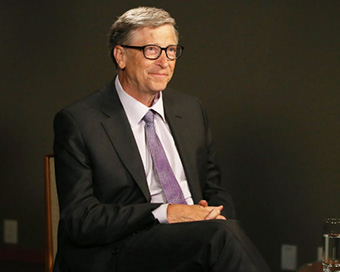 Innovation key to tackle carbon emissions: Bill Gates