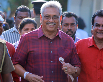 After win, Gotabaya says he is President of all Sri Lankans