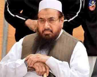 JuD protests against Hafiz Saeed\
