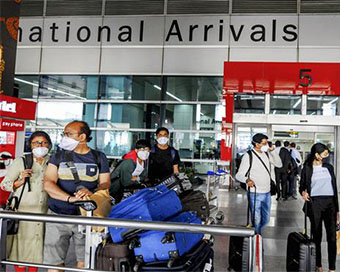 5 passengers from UK test Covid positive at Delhi airport