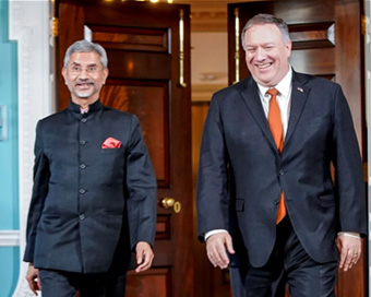 Jaishankar, Pompeo review COVID-19 efforts, affirm Indo-Pacific cooperation