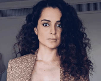 Police patrolling stepped up outside Kangana