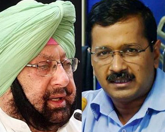 Kejriwal seeks meeting with Amarinder over pollution