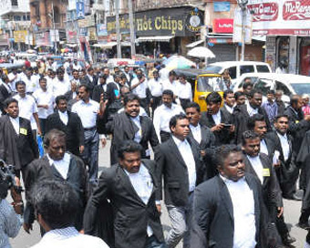 Delhi lawyers join countrywide strike