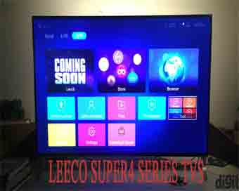 LeEco launches new Super4 TV Series in India