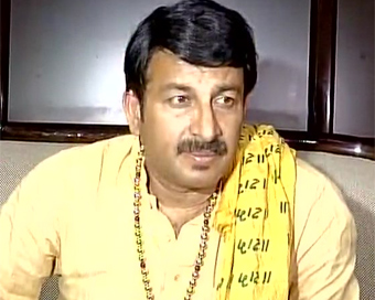 CCTV video: Delhi BJP chief
