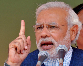 Dynastic politics destroyed institutions: Modi