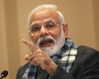 Modi asks ministers to push the pedal on development