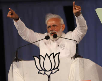 Modi blasts Congress for