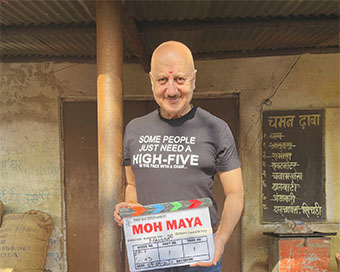 Anupam Kher announces his next film titled 'Moh Maya'