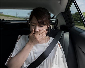 Study reveals motion sickness severity