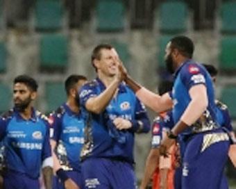 Mumbai Indians back atop points table with big win over SRH