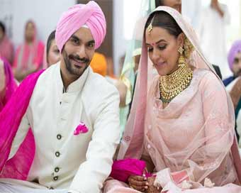 Neha Dhupia marries actor,
