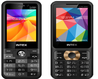 Intex launches two new feature phones