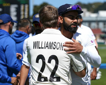 NZ thrash India by 10 wickets in Wellington Test, take 1-0 lead