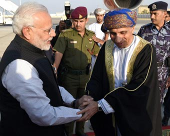 Oman Sultan appreciates Indians