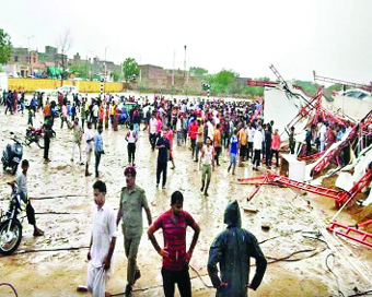 14 killed as tent collapses at Rajasthan religious gathering