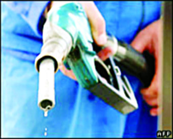 Petrol rates down for 5th day running, diesel stays unchanged