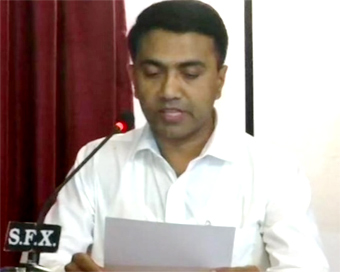 Pramod Sawant sworn in as 11th Goa CM