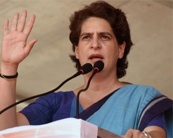 UP govt remembers farmers only in ads: Priyanka Gandhi