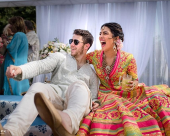 Priyanka Chopra, Nick Jonas get married, fireworks light up Jodhpur sky
