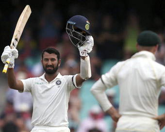 4th Test: Pujara ton boosts India on Day 1