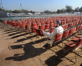 AAP expects one lakh people at Kejriwal