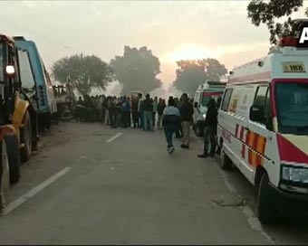 9 including 4 women die in MP bus accident