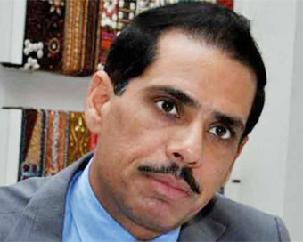 ED questions Vadra over six hours in money laundering case