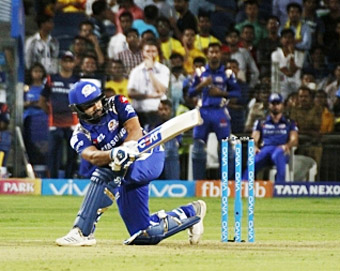 Rohit steers Mumbai past CSK by 8 wickets