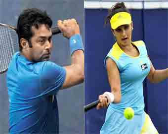 Paes wins, Sania loses in Australian Open