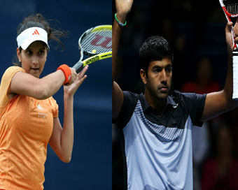 Sania vs Bopanna in Australian Open mixed doubles quarters