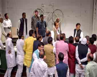 SP holds national executive meeting on poll defeat