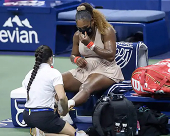 Serena Williams withdraws from Italian Open with achilles injury