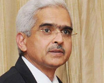 Shaktikanta Das appointed new RBI Governor